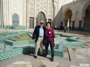 At Hassan II Mosque, Casablanca