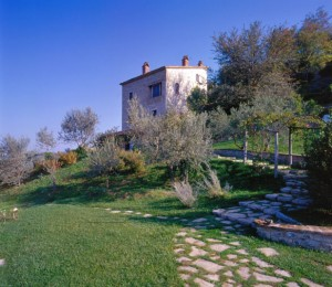 Our hilltop villa in Umbria, 'Torre del Tenente'.