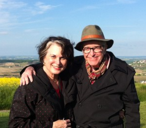 Together on a Sancerre hilltop.