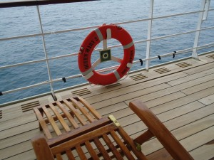 All aboard; but you need more than a life preserver in case of an accident!